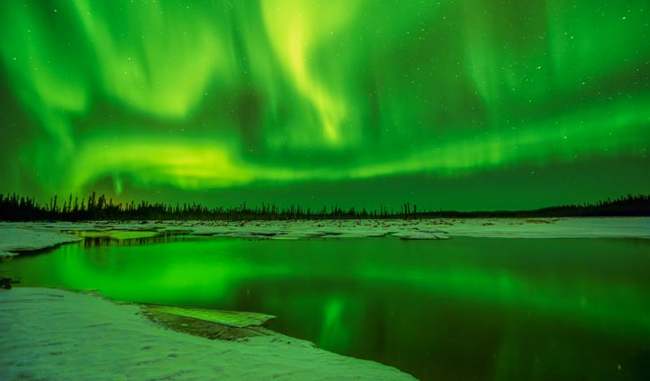 Watch the Aurora Borealis light up the sky