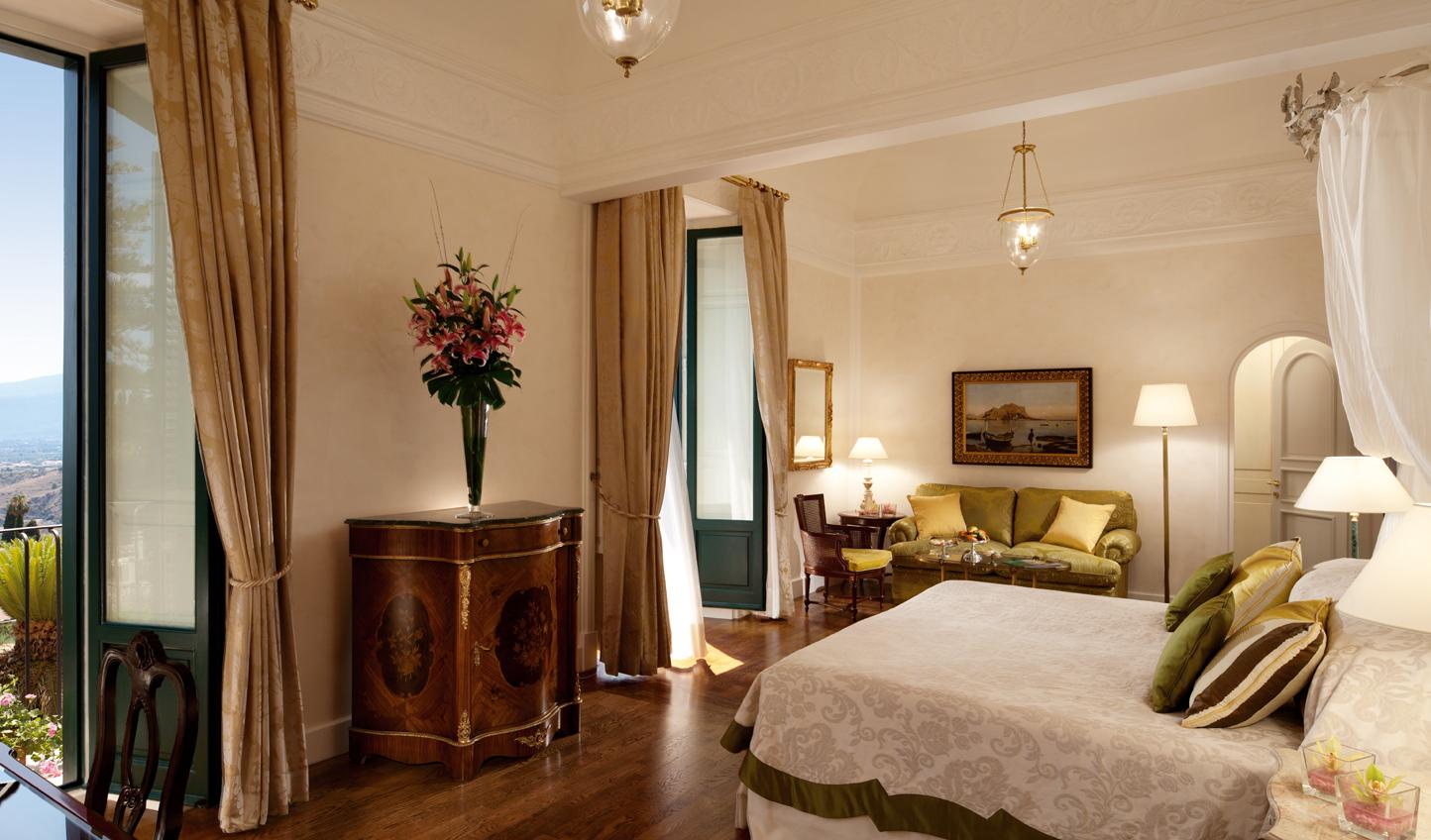 Sumptuous Italian suites
