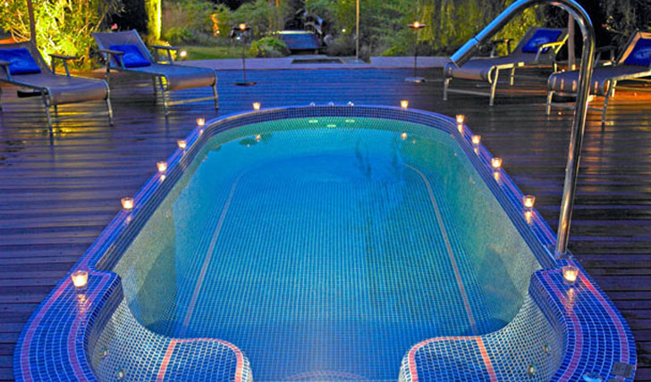 Le Mas Candille Spa Pool