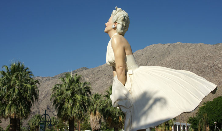 Marilyn Monroe | Palm Springs | Black Tomato