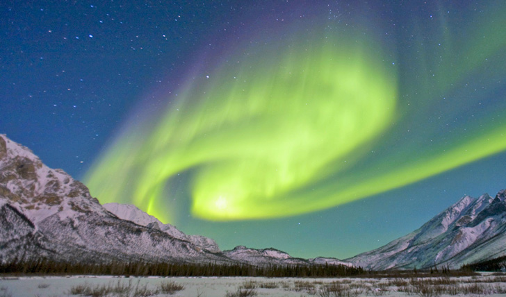 Northen lights in Alaska