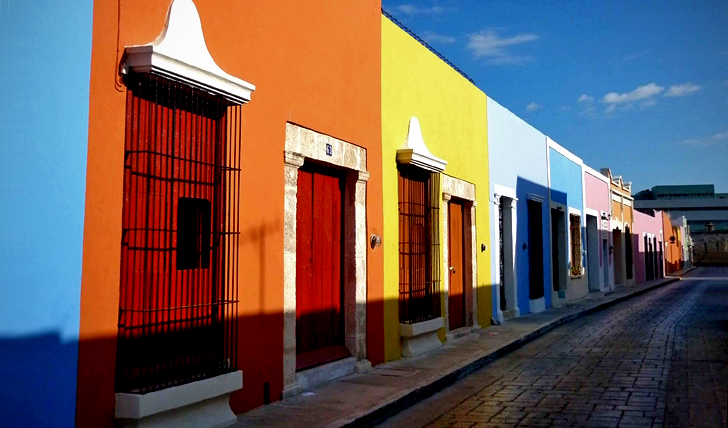 Streets of Campeche
