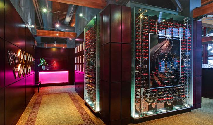 The bountiful wine cellar