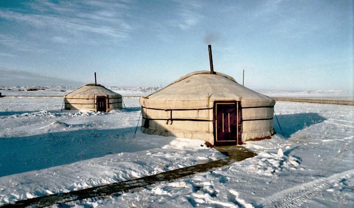 Traditonal Mongolian Ger