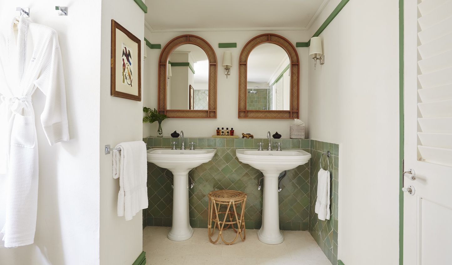 Gorgeous tiled bathrooms