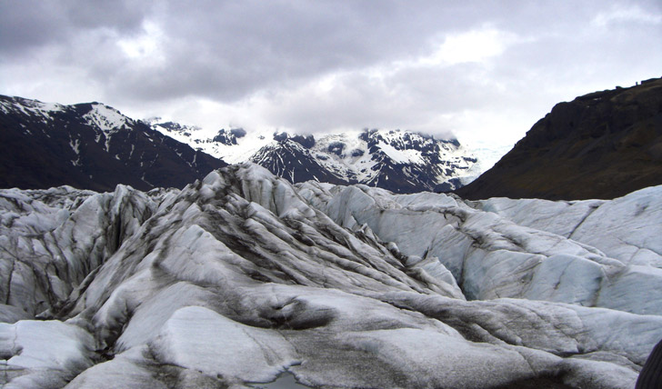 Glaciers of Northern Iceland