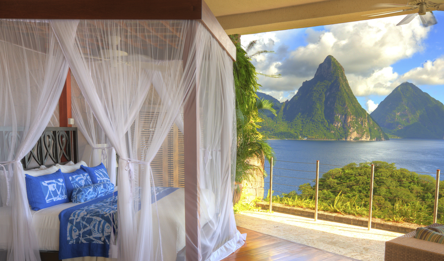 Breathtaking views to wake up to