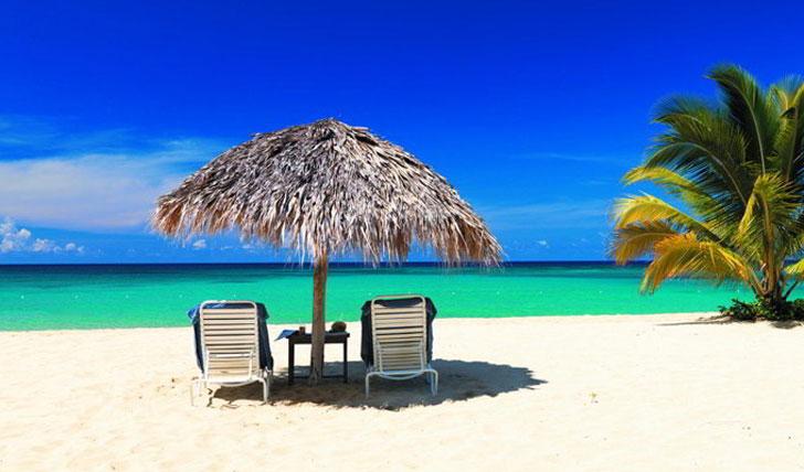 Take a stroll along the pristine sands