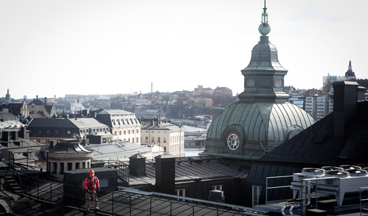 Rooftop walks in Stockholm