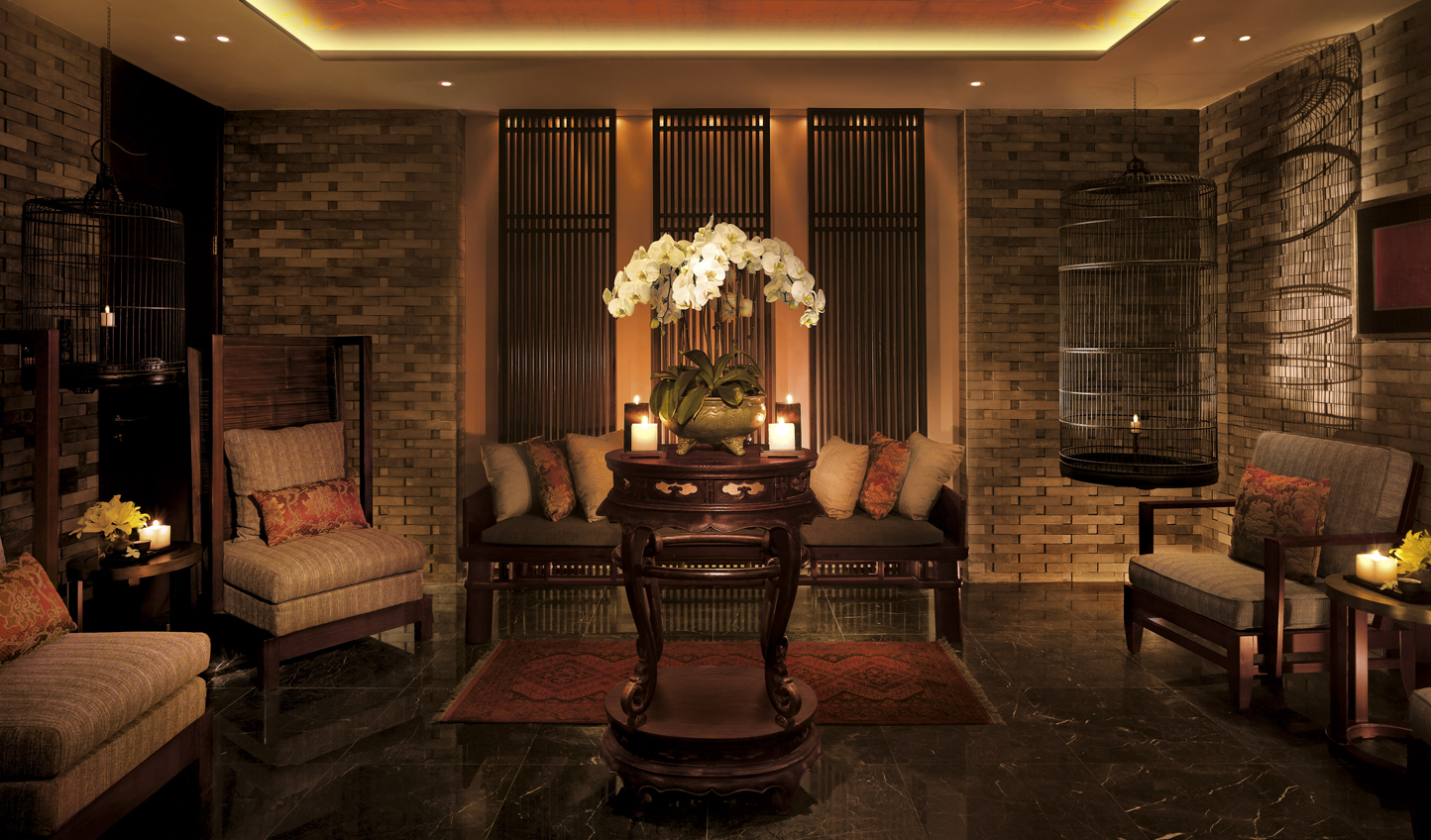 Get a sense of the Orient at the Spa