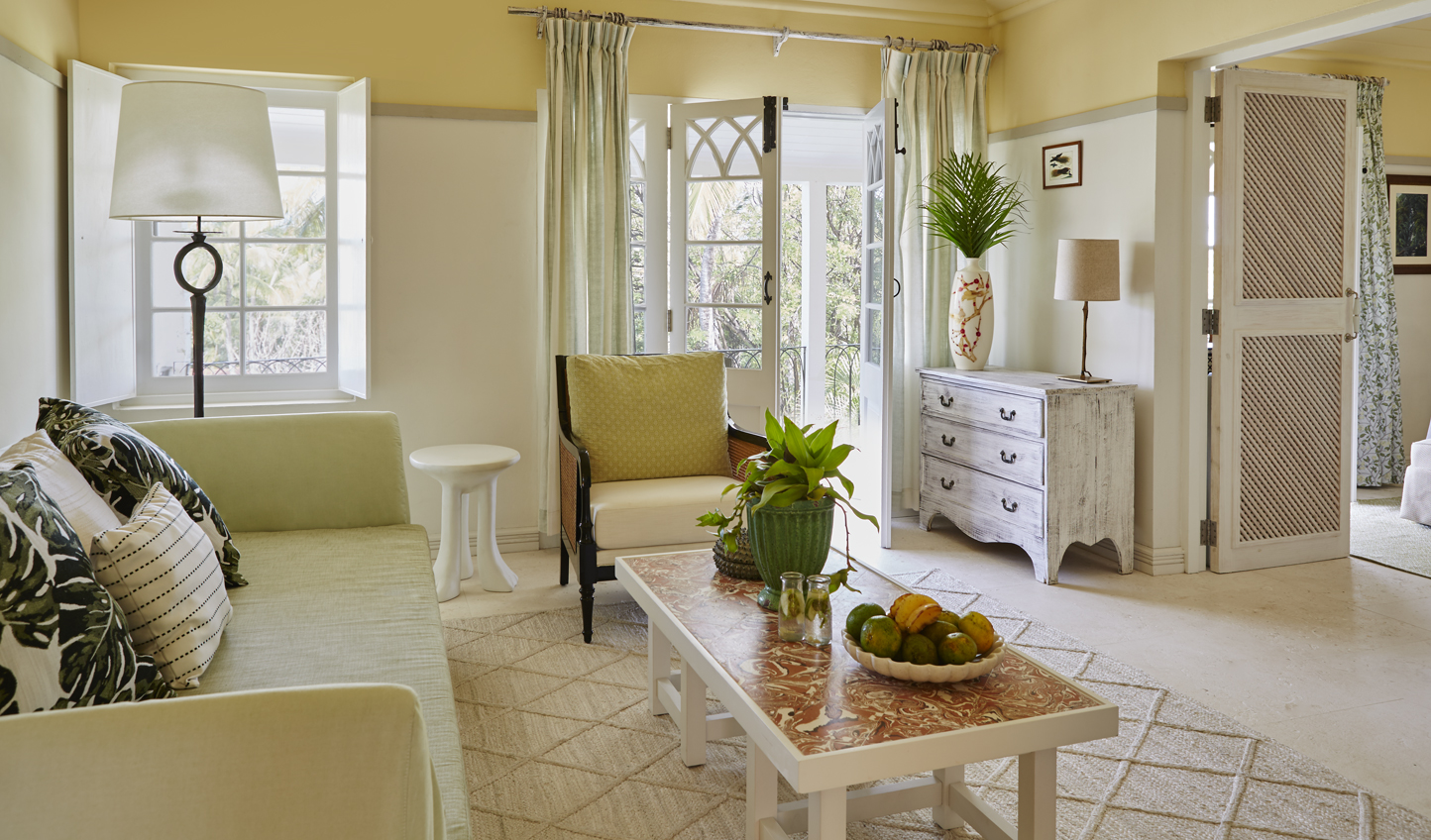 Beautiful Caribbean decor in your suite