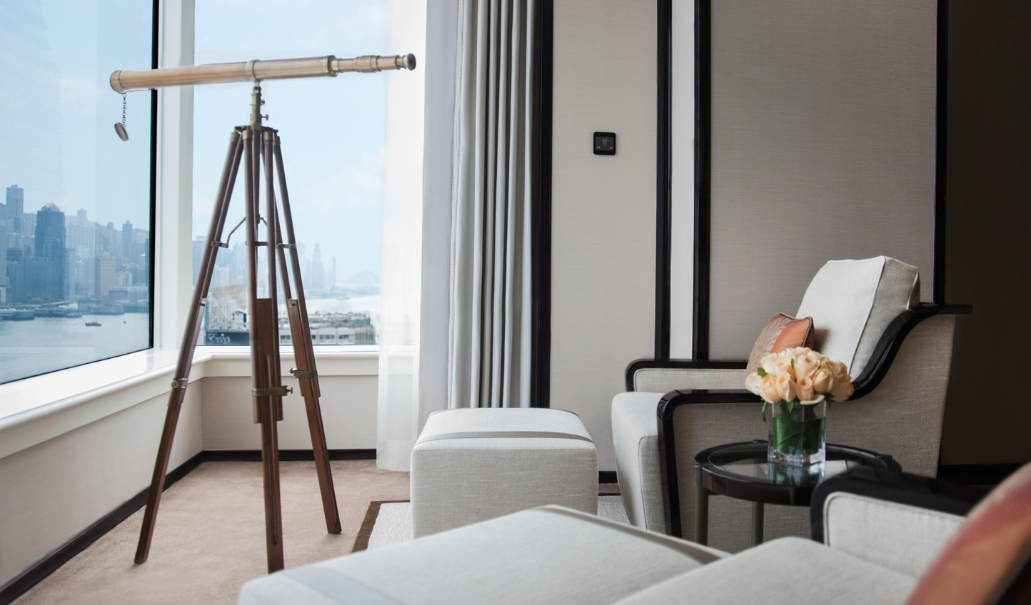 Check in at The Peninsula and admire sweeping views across Hong Kong's Victoria Harbour