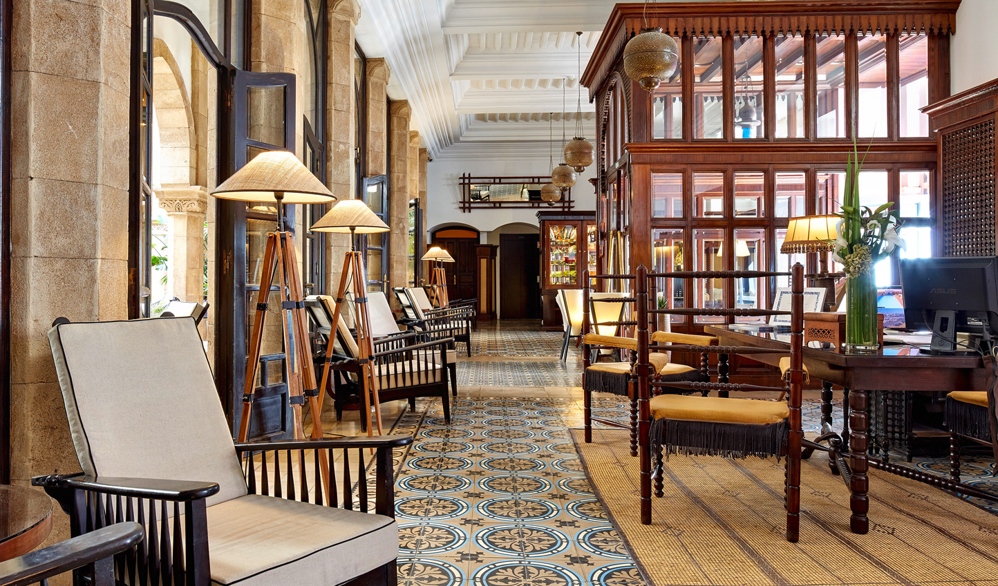 Old world Moroccan charm greets you the moment you step inside L'Heure Bleue