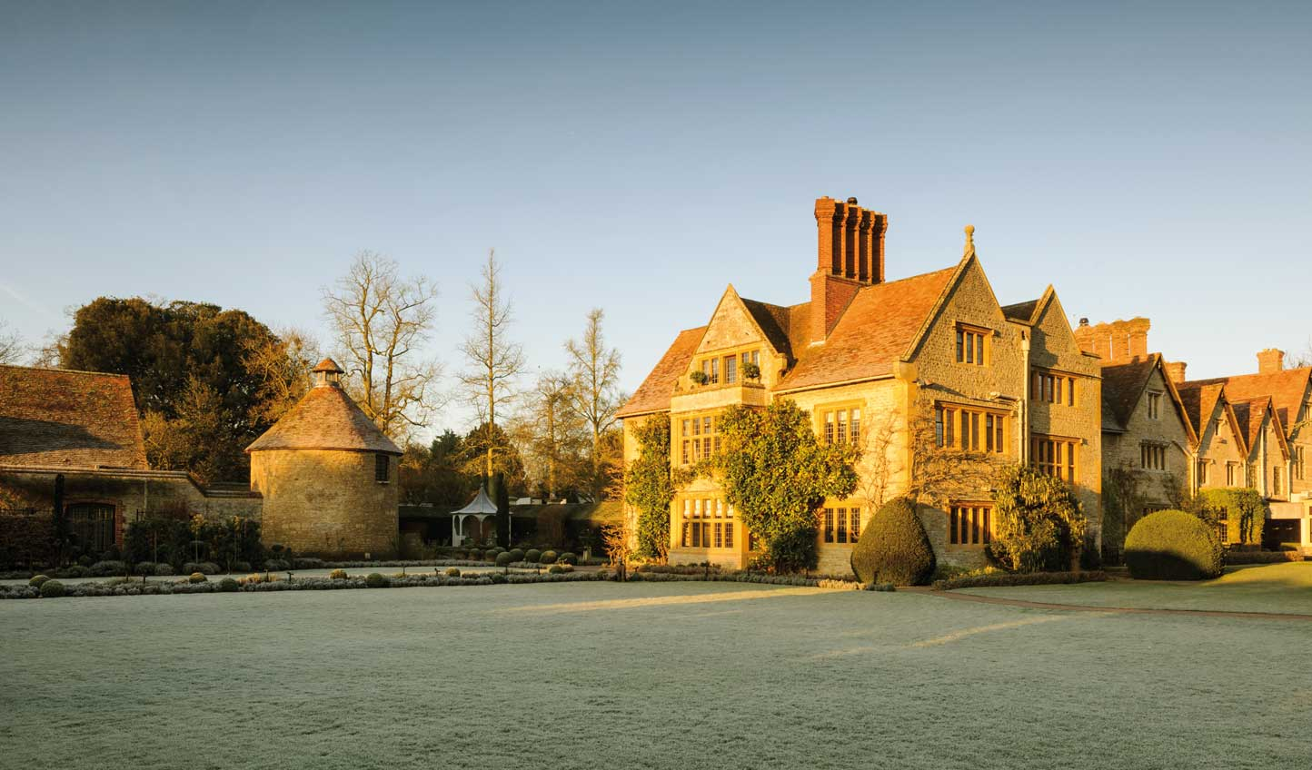 Crisp winter days at Le Manoir