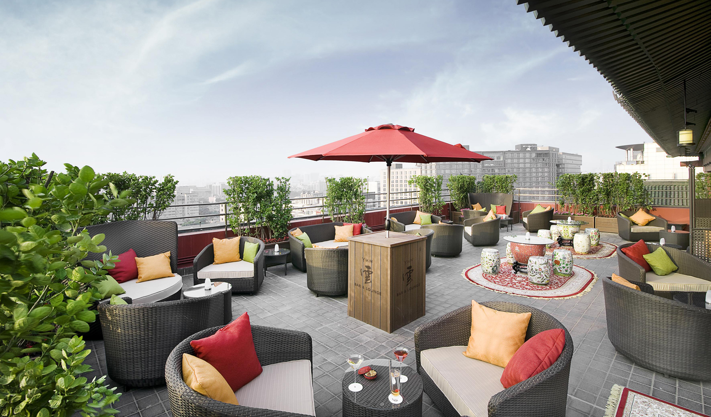 Relax on the rooftop at Yun Bar & Lounge
