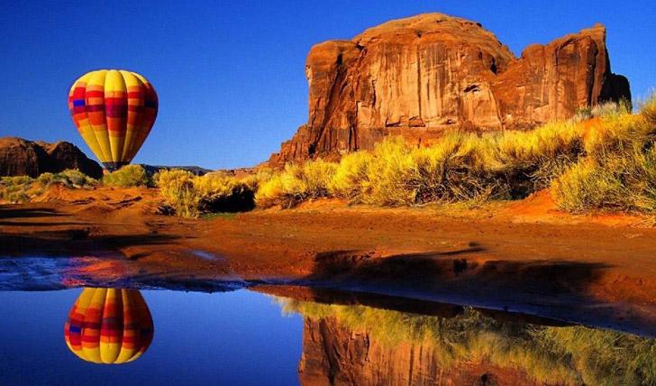 Hot air balloon New Mexico