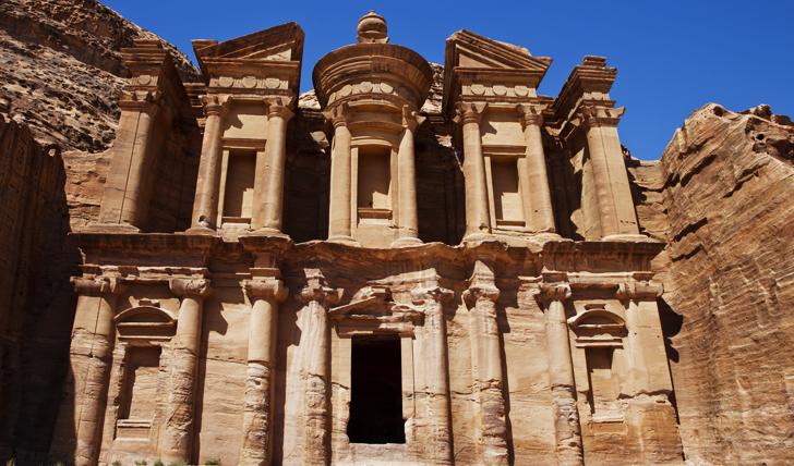 The stunning site of Petra, Jordan