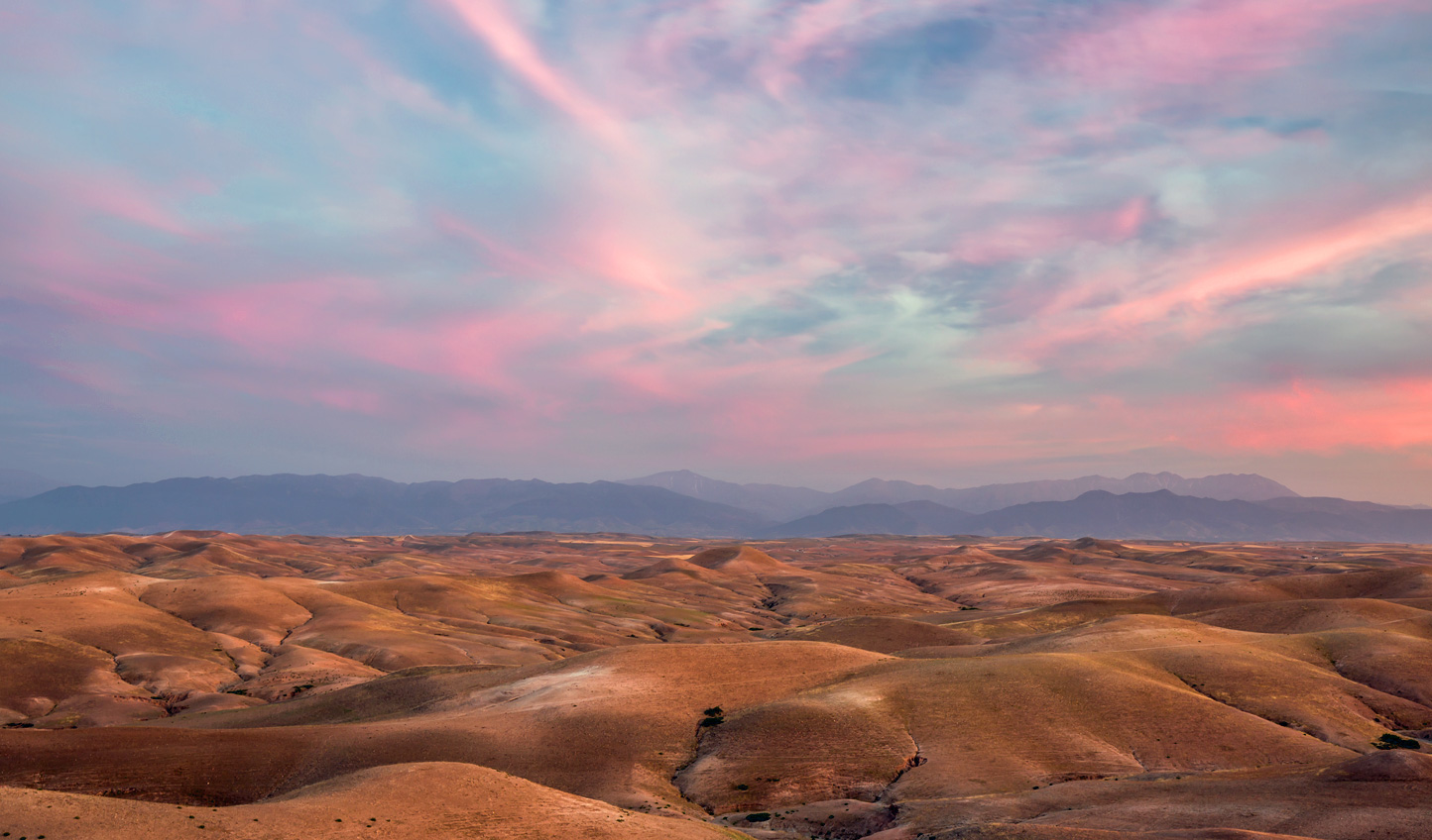 Watch the sunrise paint across the sky
