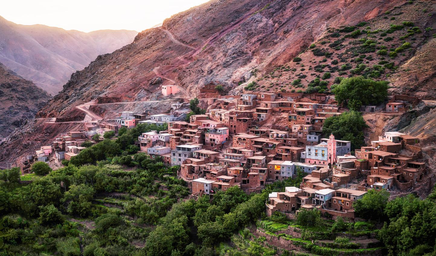 Visit remote mountain villages