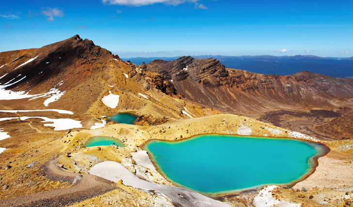 Emerald Lakes, Tongariro National Park