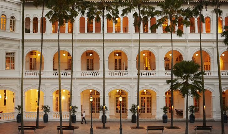 Palm Court, Raffles Singapore