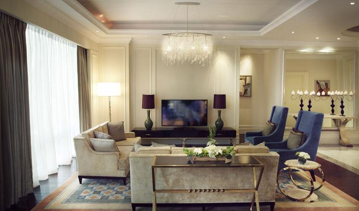 Presidential Suite | Lounge | Raffles | Makati | Manila | Philippines | Black Tomato