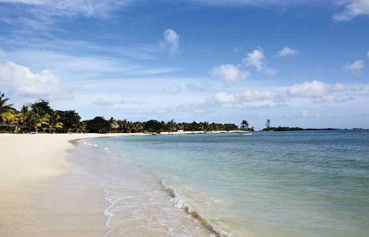 the beach at shanti maurice