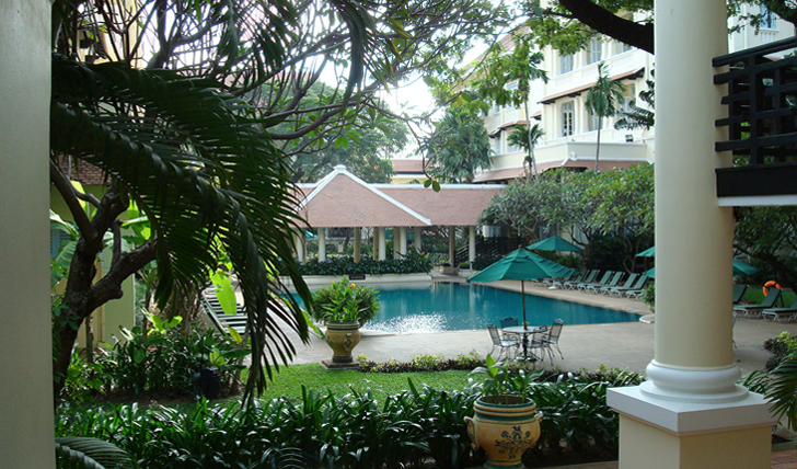 Luxury holiday at Raffles Le Royal Cambodia