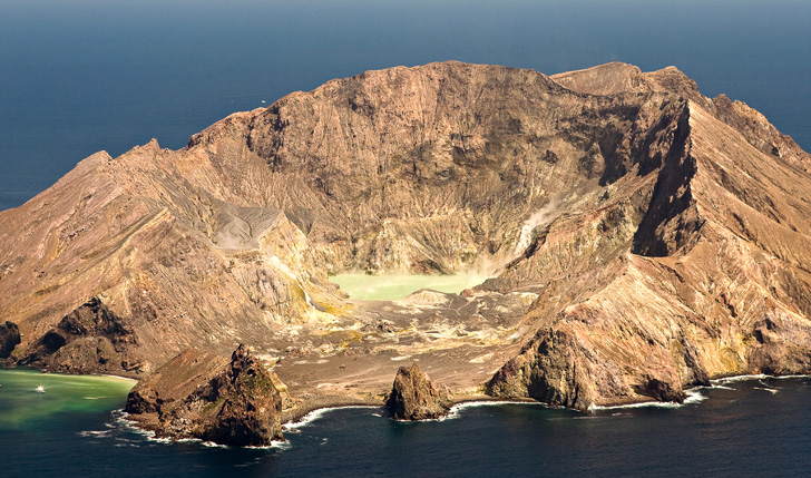 White Island Crater