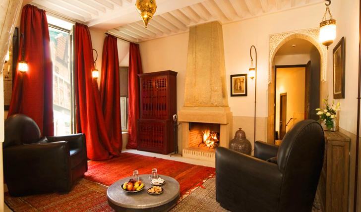 Your room at Riad Farnatchi