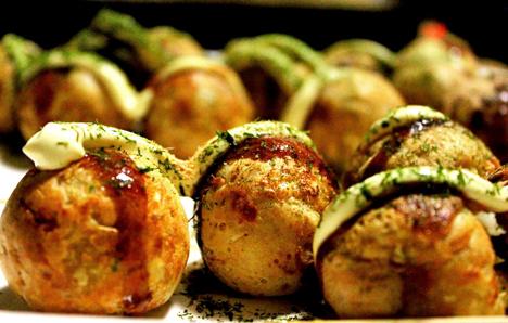 Takoyaki plancha