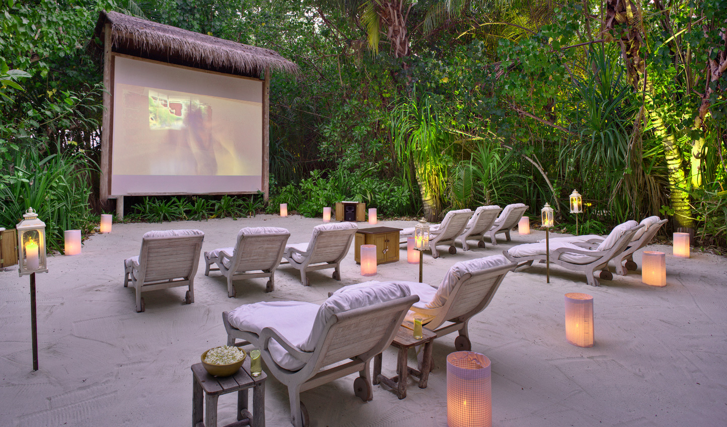 Grab some popcorn and enjoy a film beneath the stars