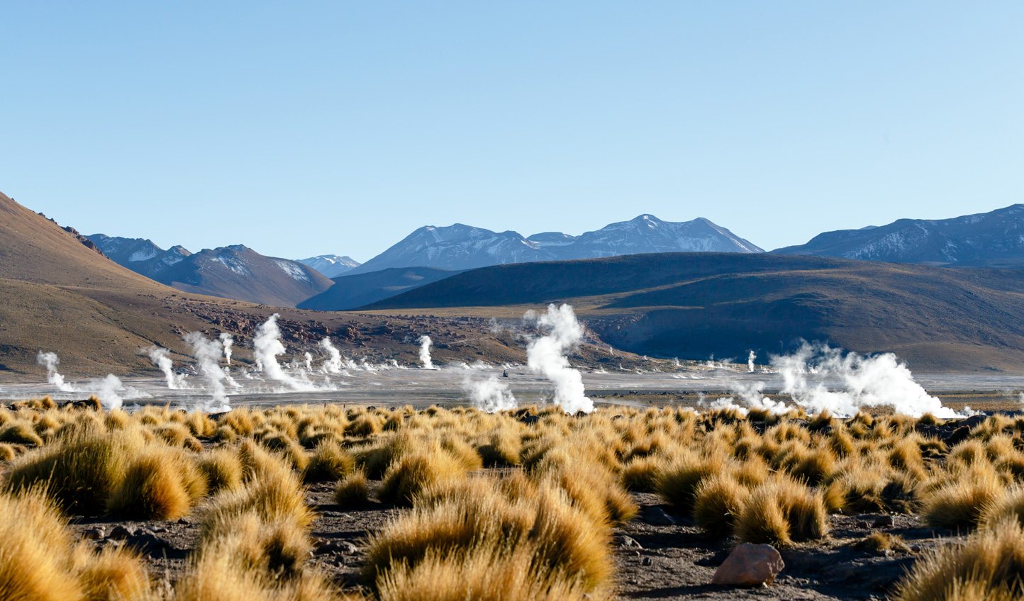 See the world's third biggest geysers at the Camp of Tatio