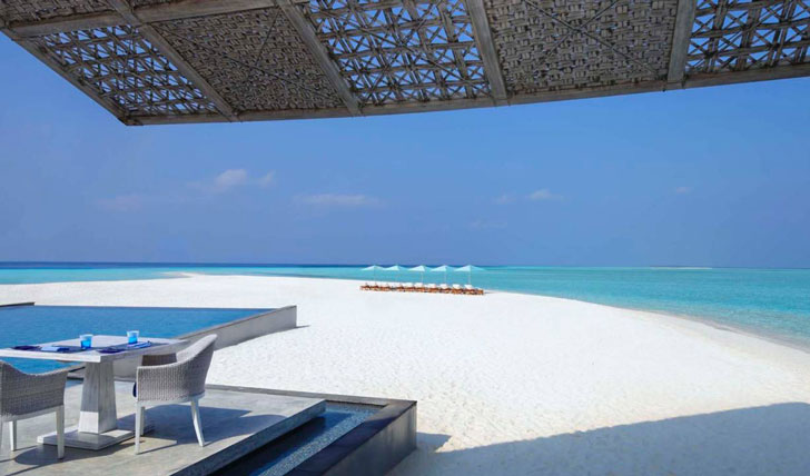 Luxury beach holidays in the Maldives