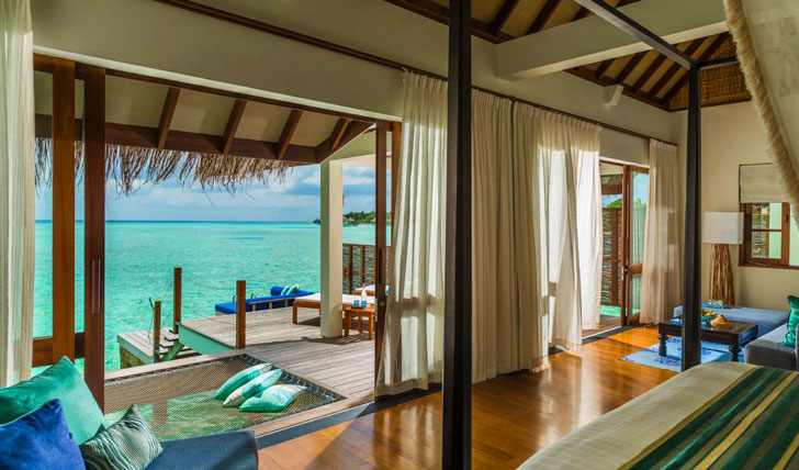 Luxury holidays in the Maldives