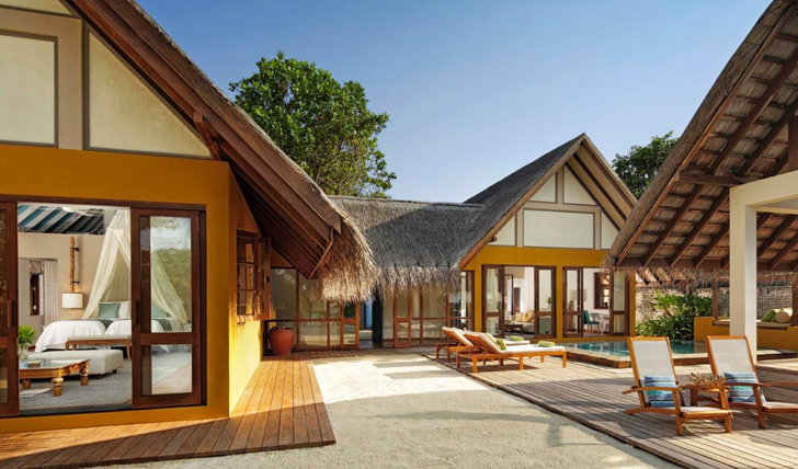 family beach bungalow at four seasons landaa giraavaru