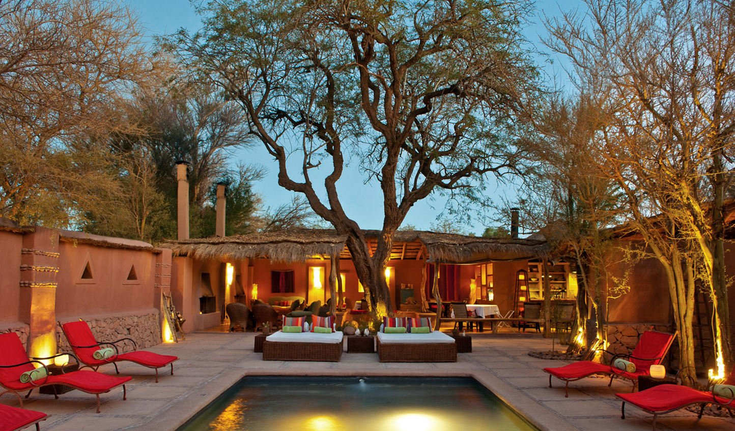 Stay at the luxurious Awasi Hotel in San Pedro de Atacama