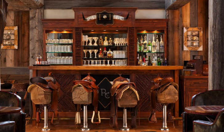 The ranch at rock creek luxury holidays in the usa for Saloon interior designs