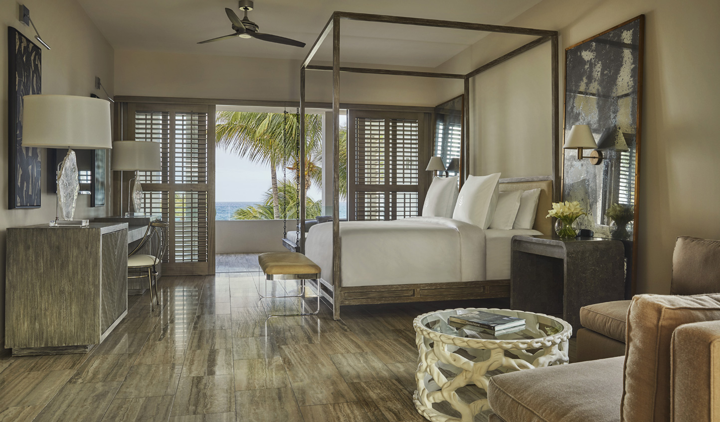 Enjoy modern luxury with a hint of Caribbean soul