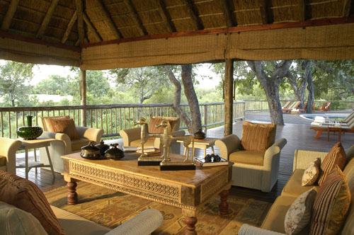 Decking area | Bush Lodge Sabi Sabi