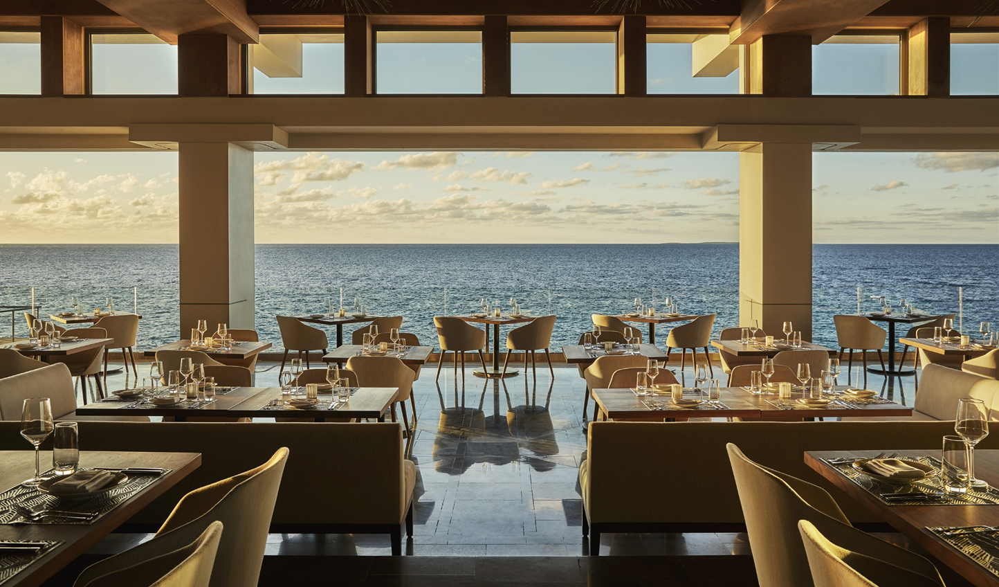Did someone say dinner with a view?