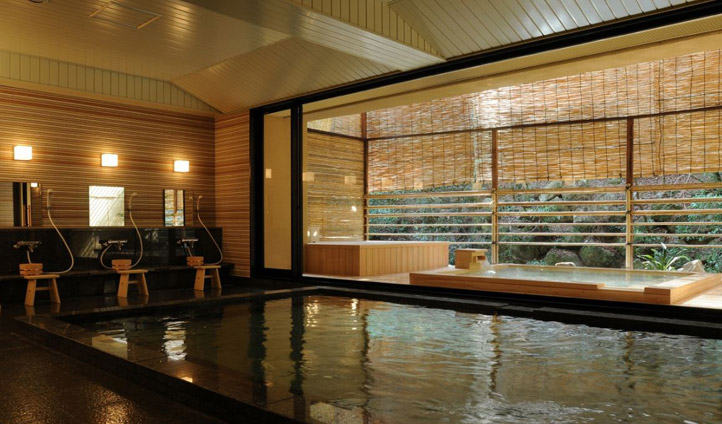 Hinodeyu, the relaxing baths