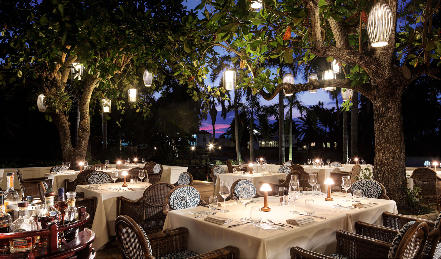 Dine by candlelight at The Sugar Mill