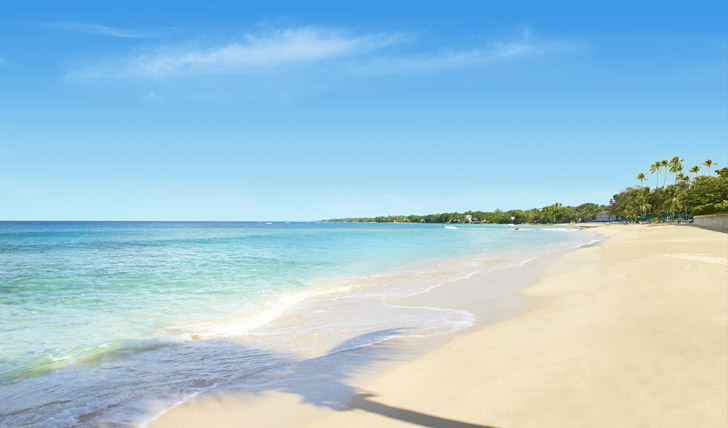 The perfect beaches of Barbados