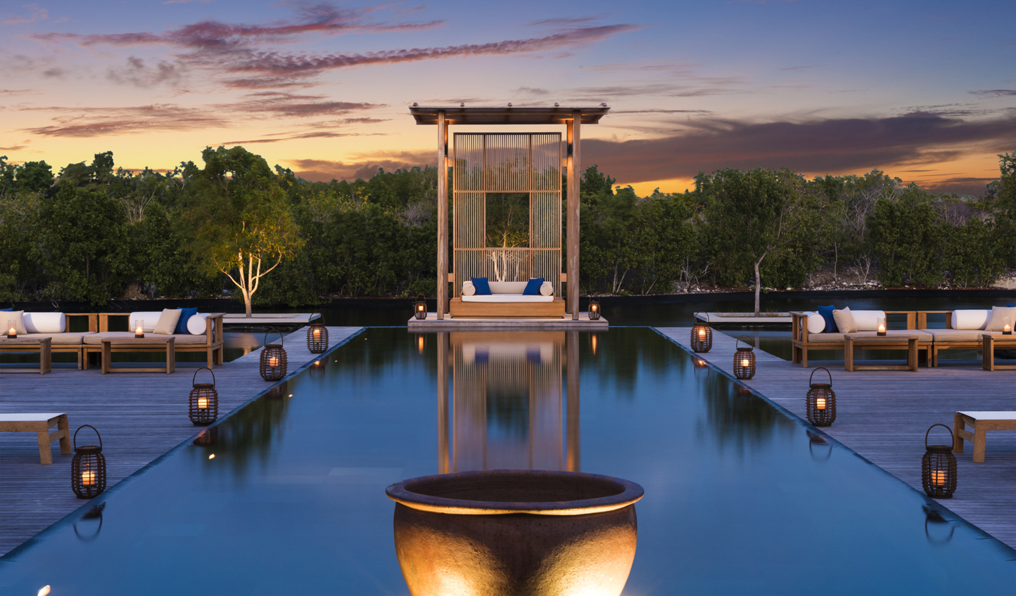 Develop a sense of tranquility at Amanyara