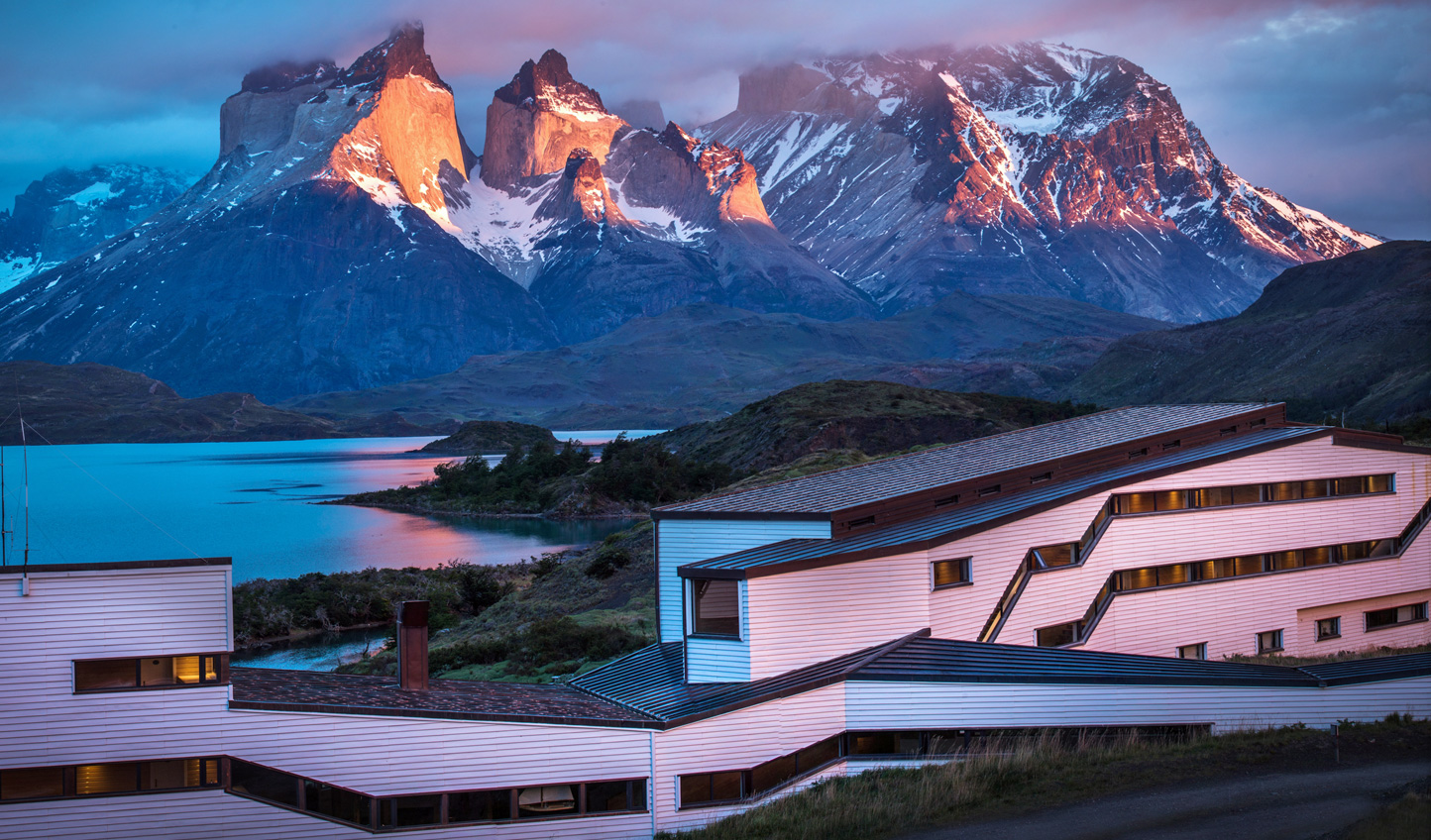 Striking architecture meets natural beauty