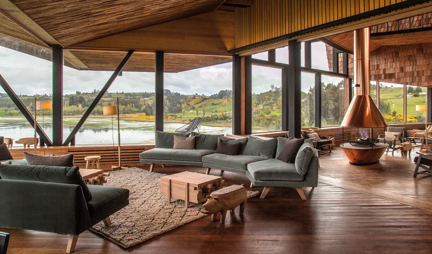 Slip into sumptuous comfort and spectacular views at Tierra Chiloe