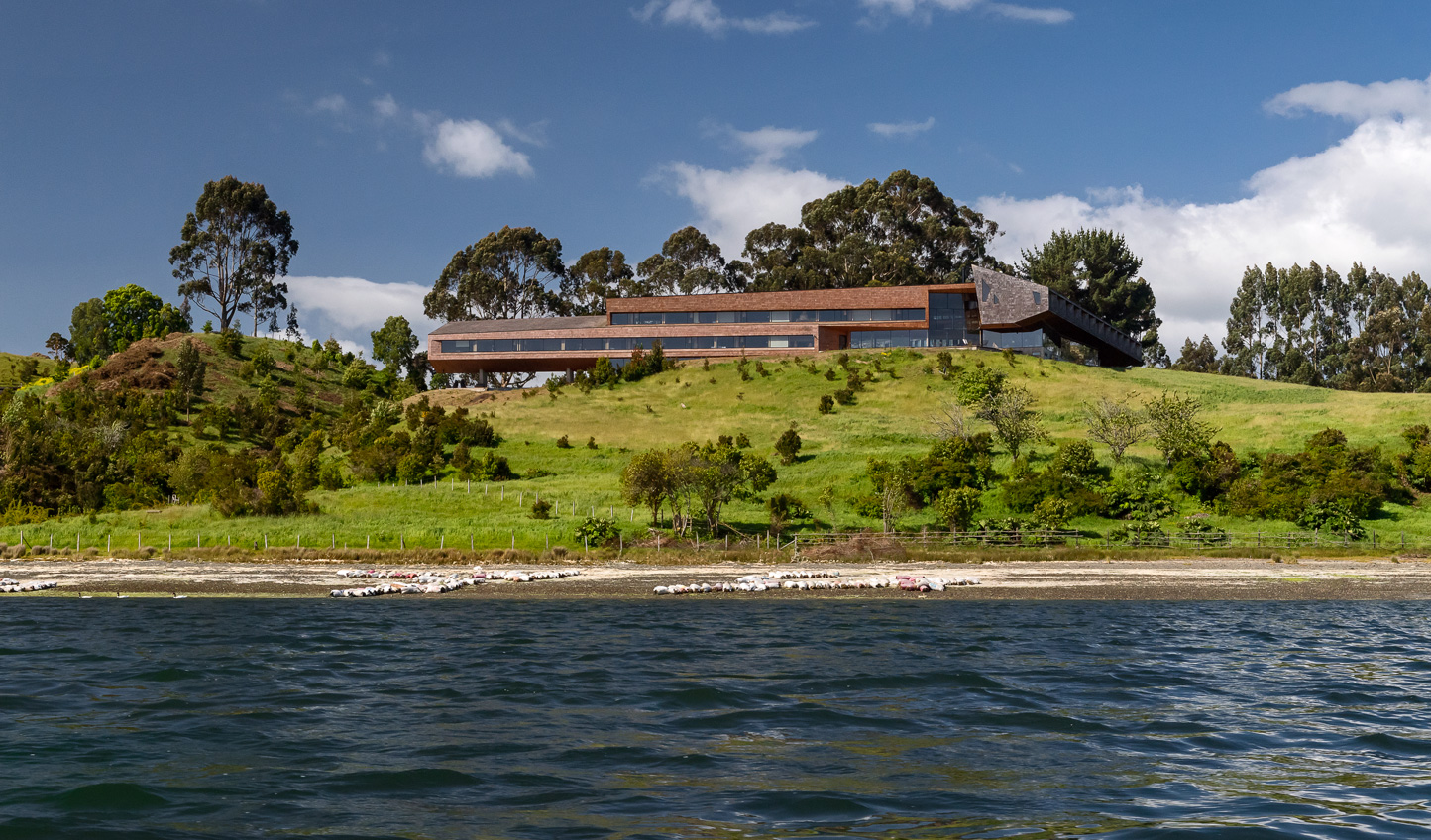 Get away from it all and hole up at the secluded Tierra Chiloe