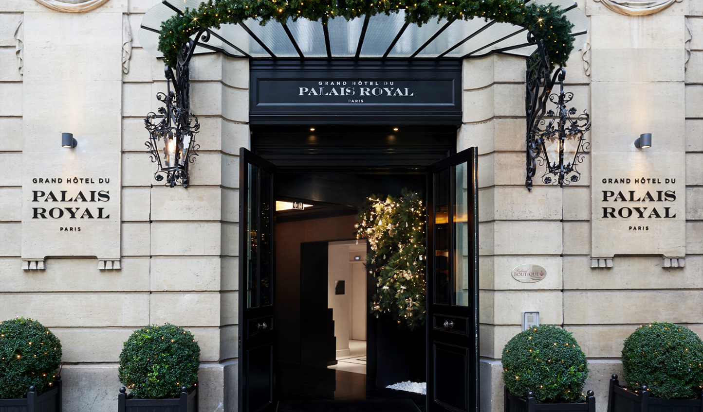 Welcome to Grand Hotel du Palais Royal