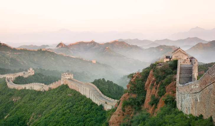Dawn at the Great Wall